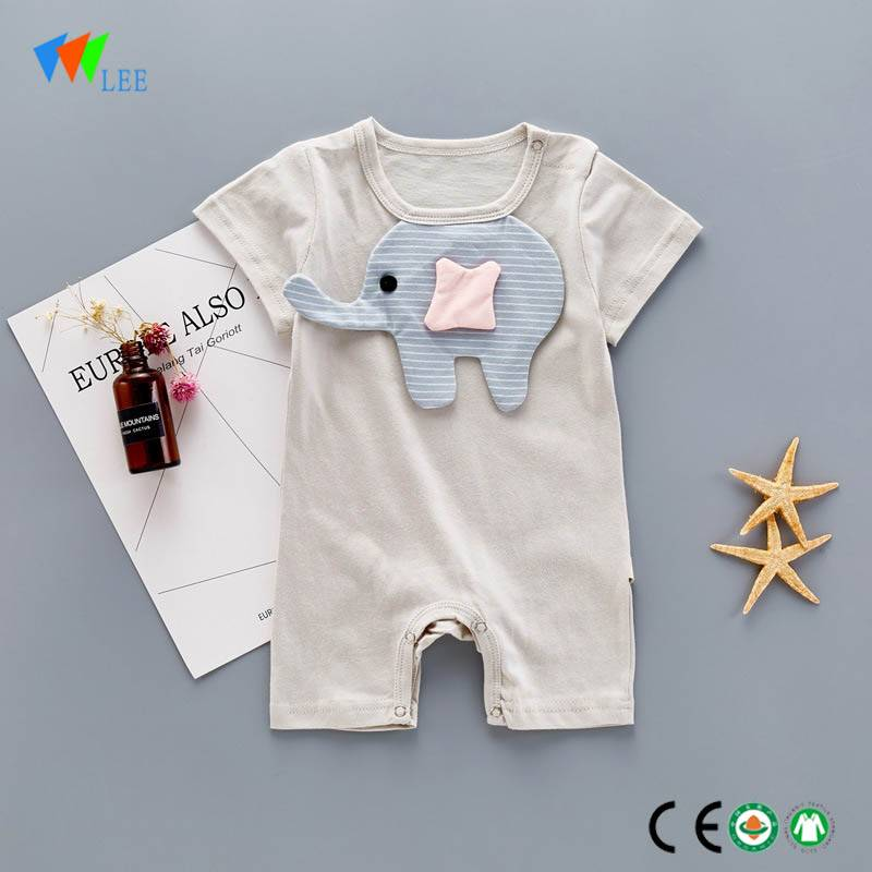 OEM hot sale organic cotton baby rompers wholesale baby ...