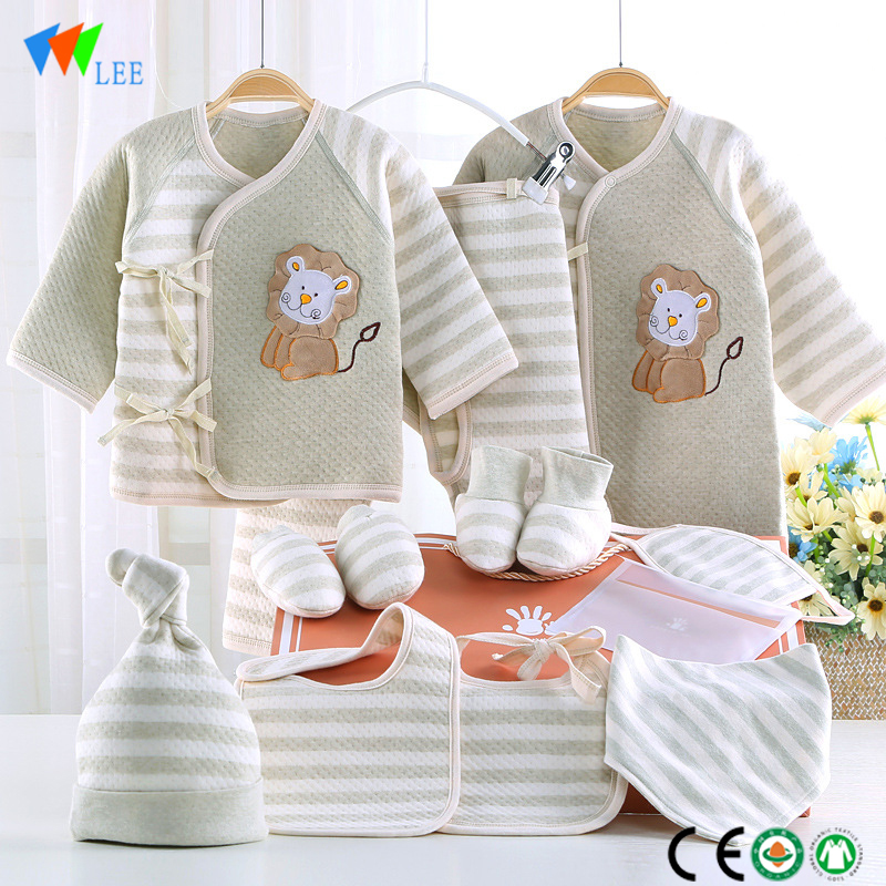 New fashions long-sleeved cotton baby rompers wholesale baby clothes
