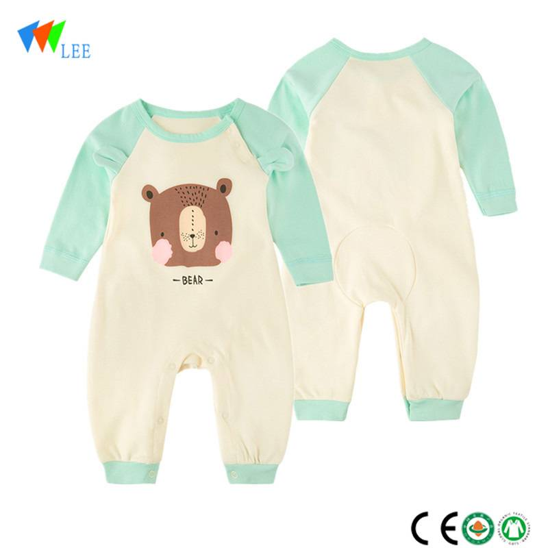 hot sale animal baby clothing romper long-sleeved comfortable baby rompers wholesale baby clothes