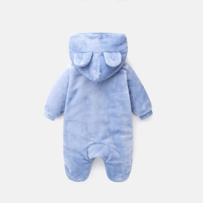 2017 Winter Children's Clothing Wholesale Flannel Long Sleeve Baby Romper