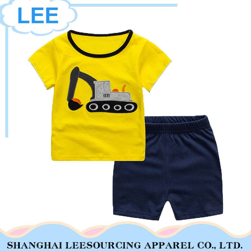 Wholesale Children's Boutique Clothing Baby Boys Clothes Kid Clothing Sets