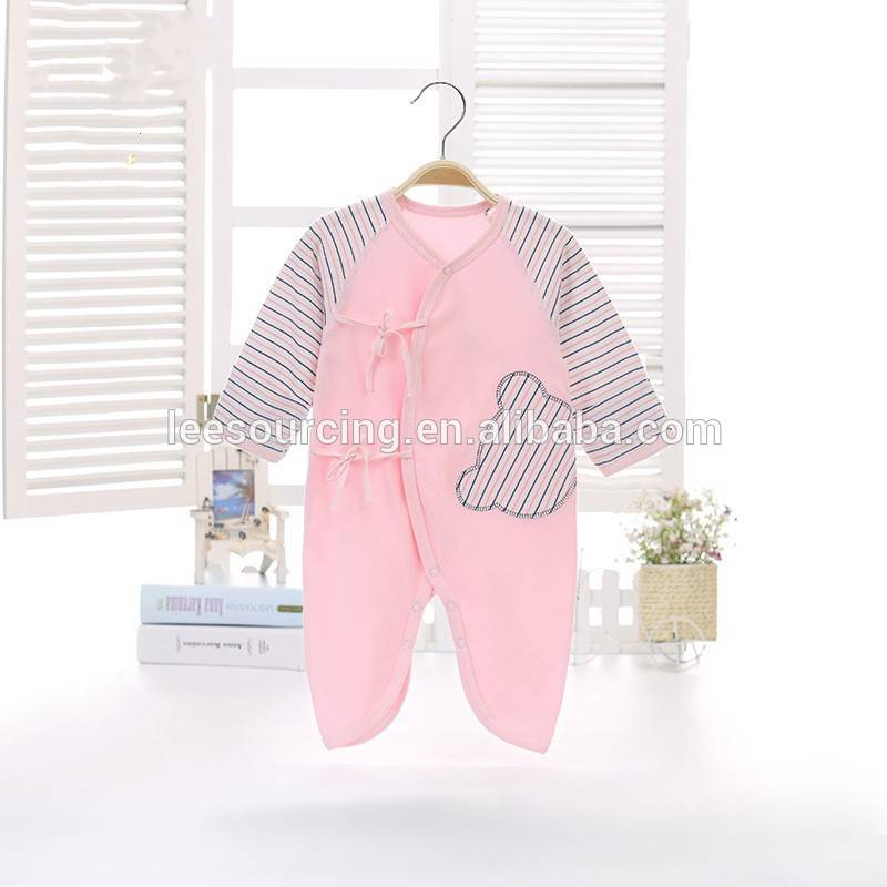 High quality baby infants long sleeve 100% cotton baby pajamas