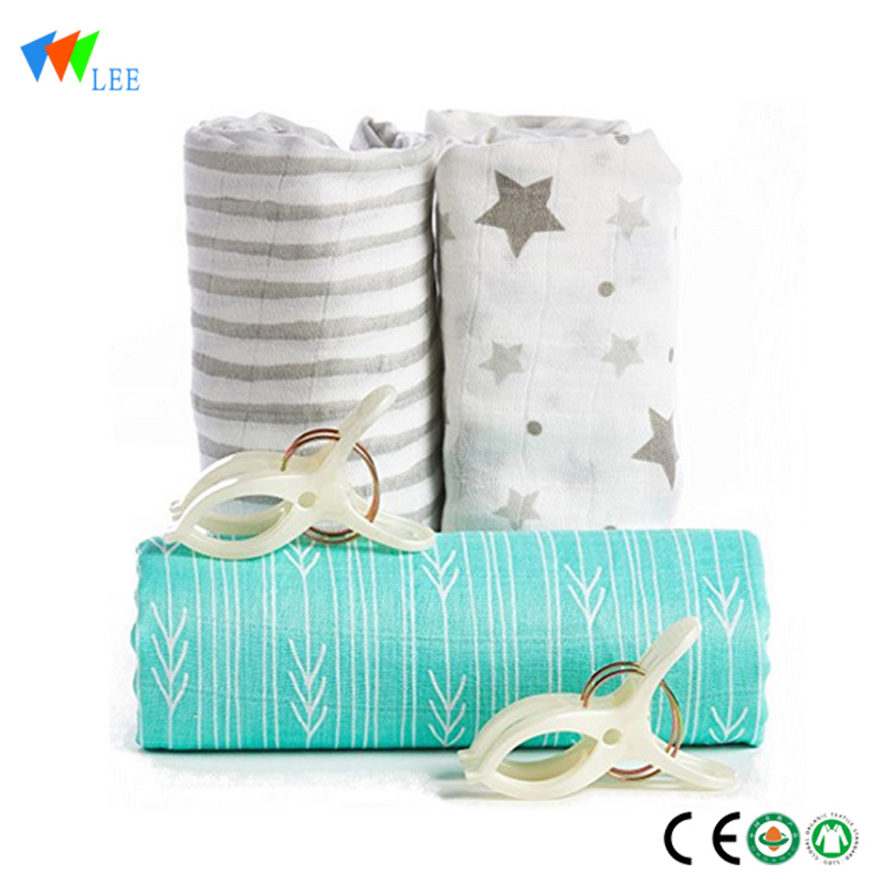 2018 new design and fashionable style wholesale high quality soft baby bamboo fiber blanket Featured Image