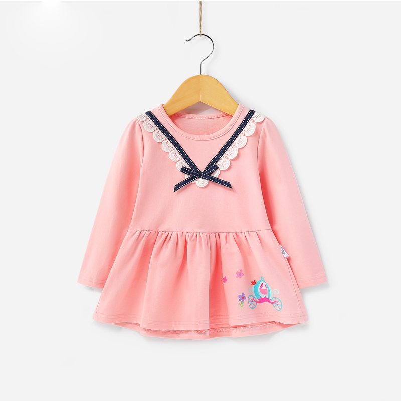 Factory Direct Preț în aer liber pentru copii Wear Baby Girl Dress Smocking