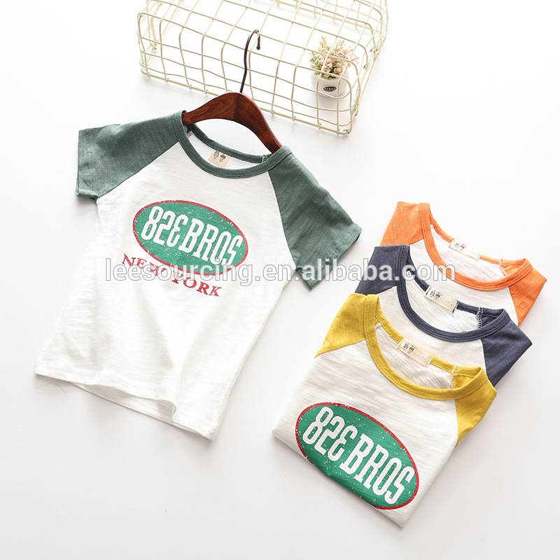 wholesale good price kids t shirts t shirt printing custom bamboo cotton