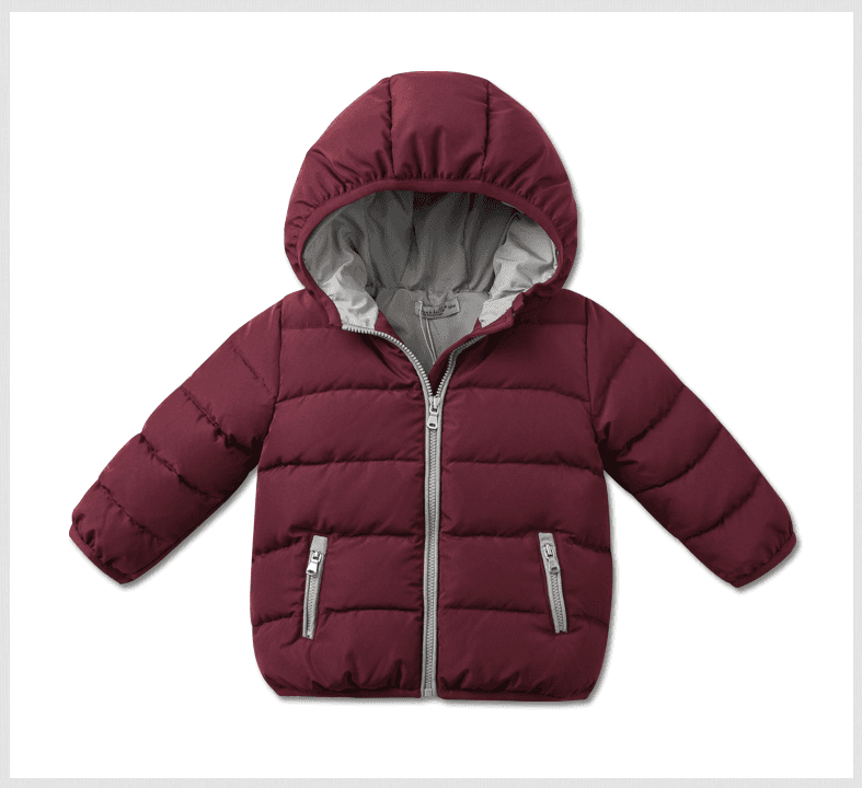 Kina Producent Engros 90% andedun 10% Feather Jakke Børn Winter Down Jacket