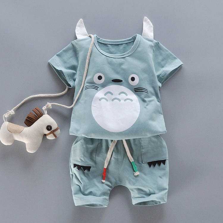 2018 Newly Summer Cotton Children's Clothes Set