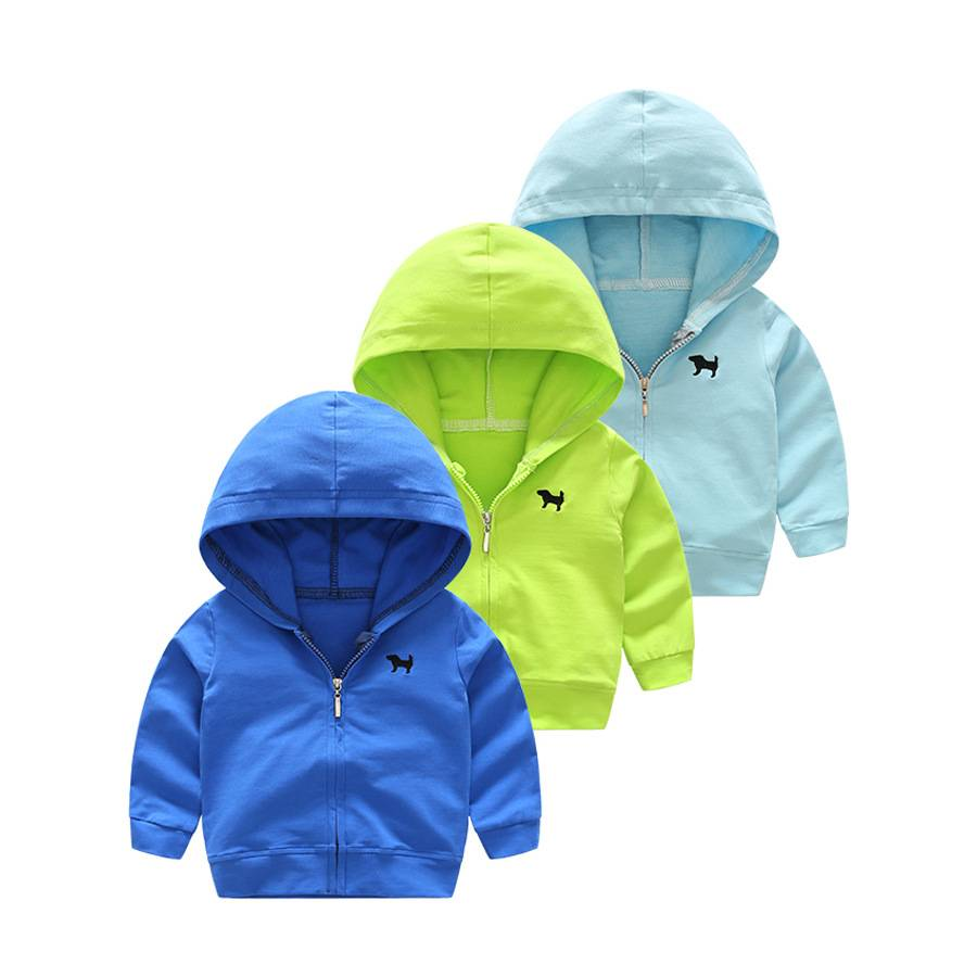 Wholesale kids clothing plain baby hoodies for boys frozen coat