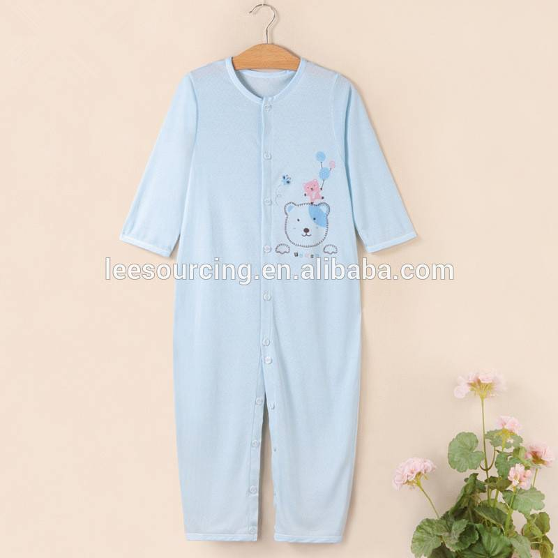 Grousshandel Summer Bambu Puppelchen onesie Keefer gëtt ee Equipment Service