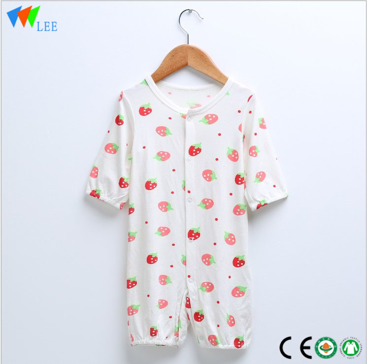 Fashionable ezi mma Cheap New Ịmụ Baby Clothing achara romper