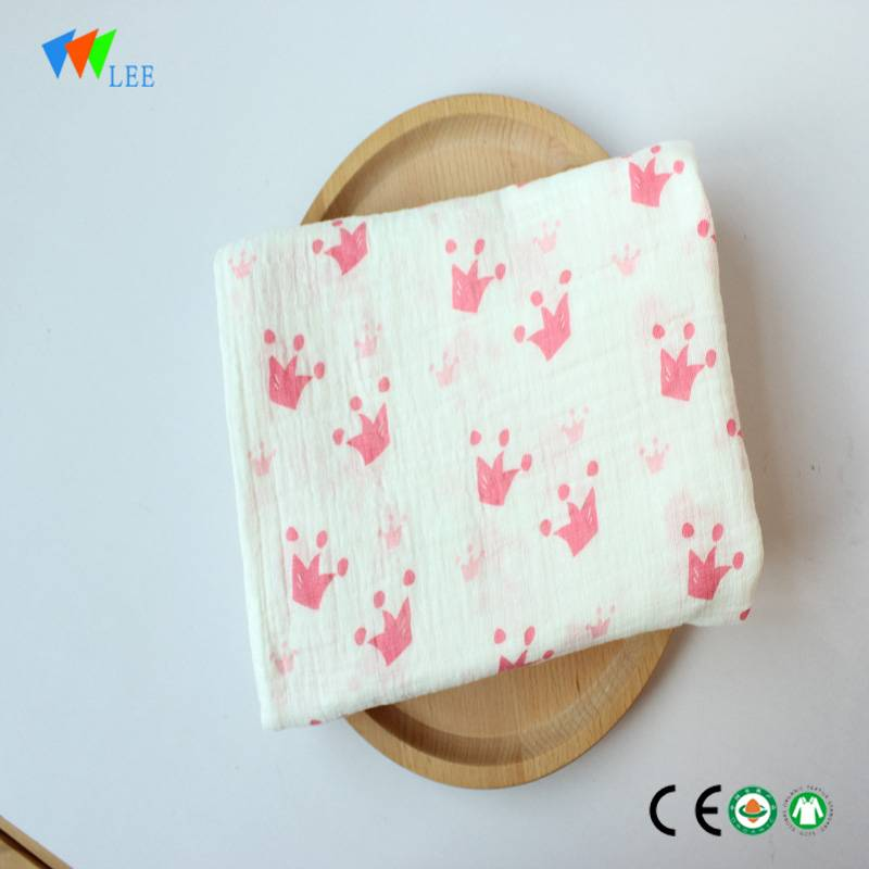 latest new design and fashionable style wholesale high quality soft baby bamboo fiber blanket