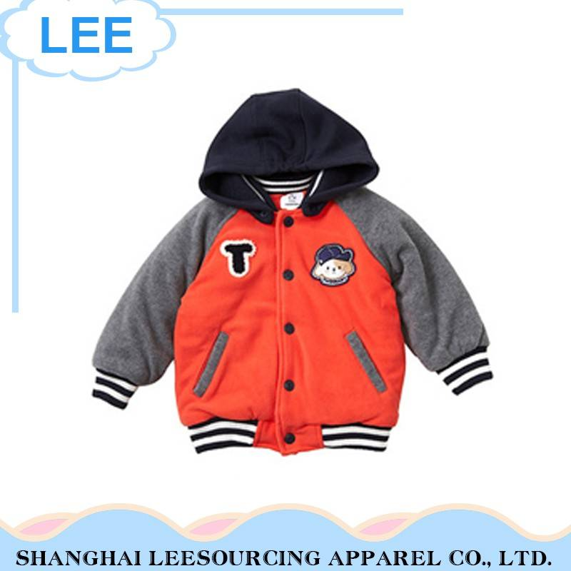 Children Baby Kids Clothing Spring Coat Long Sleeves Hooded Jacket Out Clothes