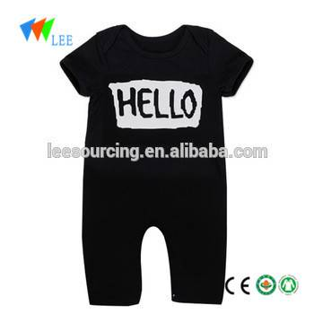 Wholesale new design baby cilên bamboo Romper eco nûbûyî baby girl clothes pitikan Romper