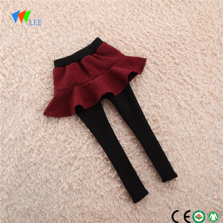 wholesale china manufacture new style winter thick kids leggings girls organic cotton children legging pants
