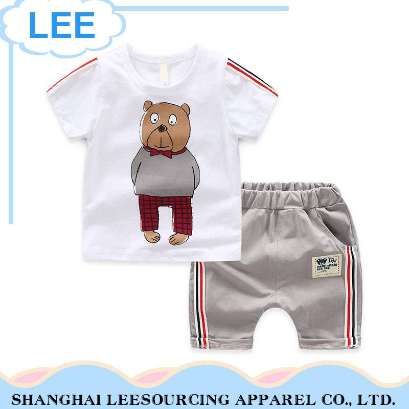 Summer Children Clothes Sets Baby Boy Sports Suit