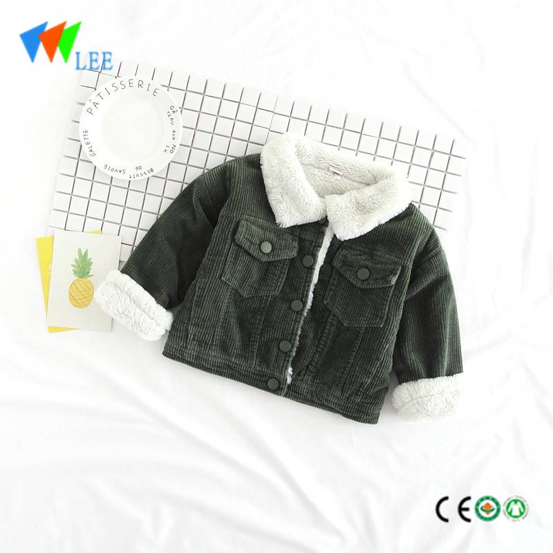 baby winter cotton-padded jacket kids cashmere and harem coats