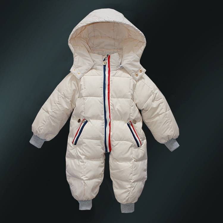 2017 children new baby fur coat warm down jacket for 1-5 years old kids