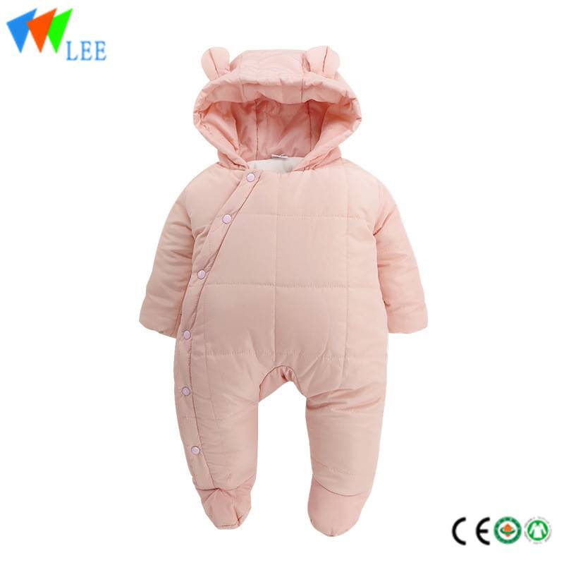 100% cotton winter baby romper comfortable Pile up Keep warm