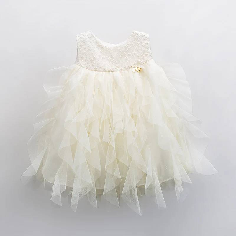 Fashion Kids Apparel Yellow Tulle Tutu Pari Dress for Baby Girl