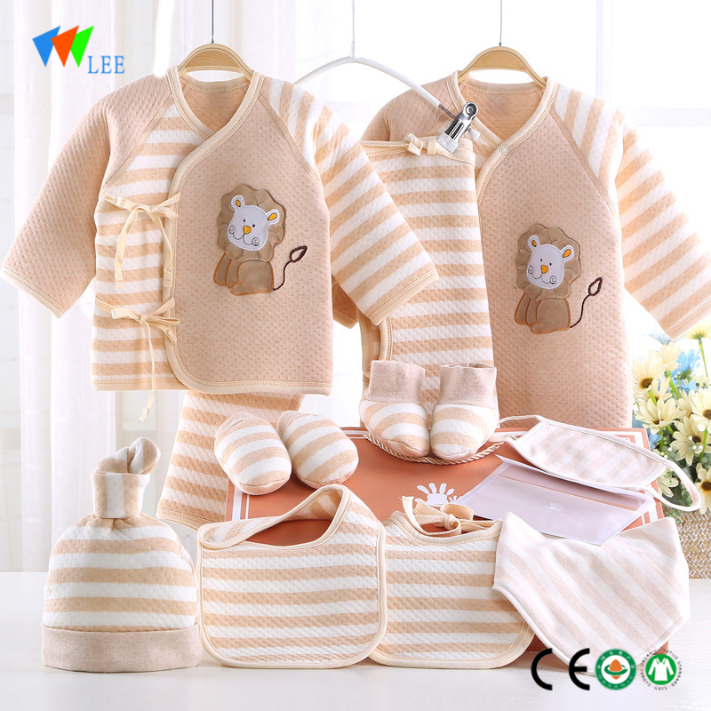 New style long-sleeved organic cotton baby rompers wholesale baby clothes