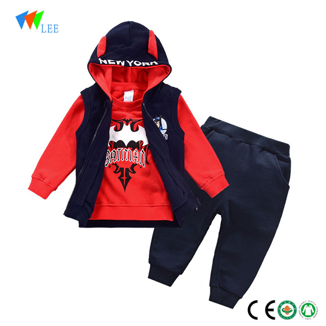kids baby boys casual clothes clothing set 3 pcs