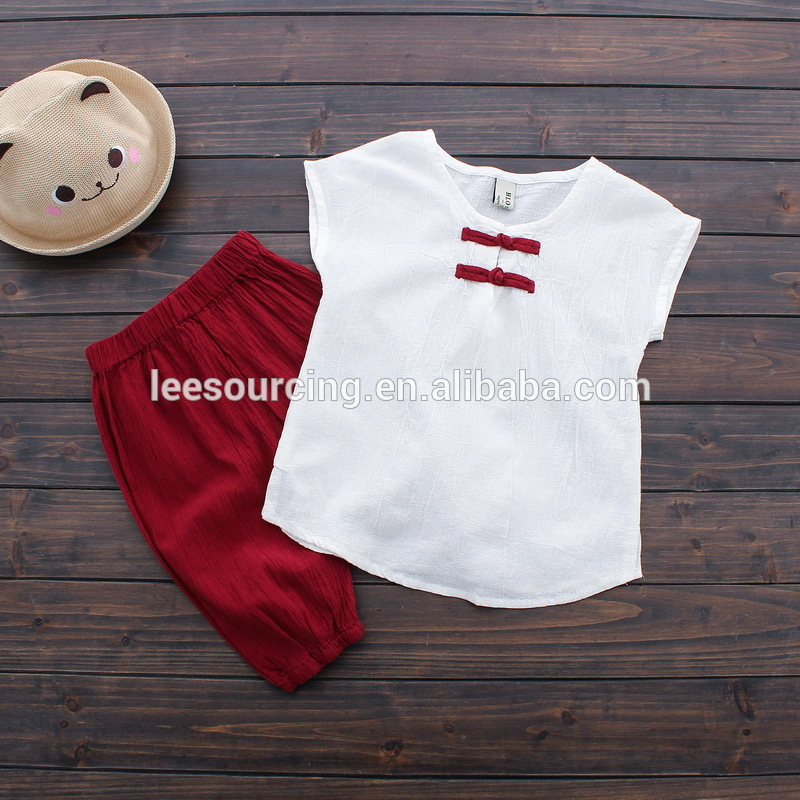 Custom design cool feeling OEM Branded boy clothes set little boy children outfit clothing set