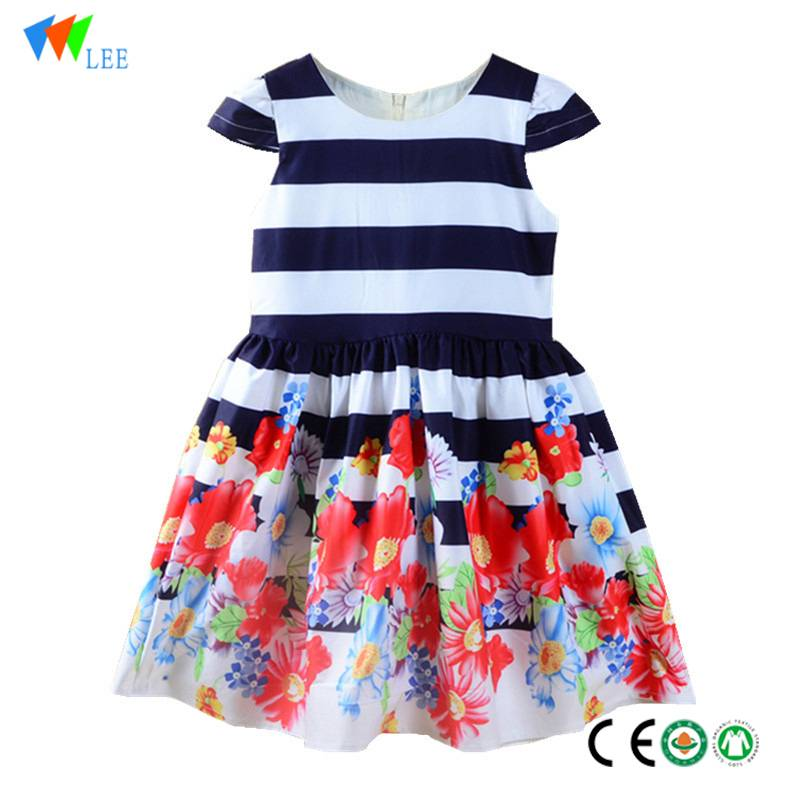 china manufacture new design baby girl clothes dress wholesales latest children dress designs