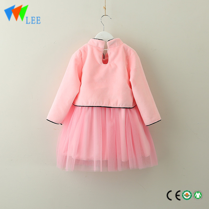 Oem Manufacturer 3 Pc Baby Boy Clothes Girls Long Sleeve Blouse Fashion Design Children Party Dress With Ruffle Leesourcing Manufacturers And Suppliers China Leesourcing