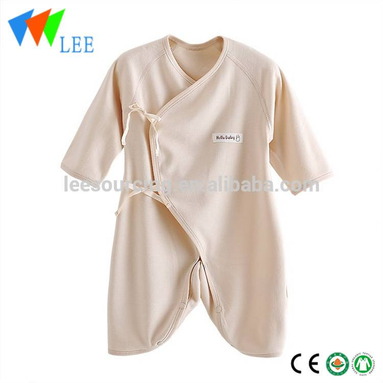 Wholesale summer long sleeve newborn romper kimono product for bamboo baby clothing