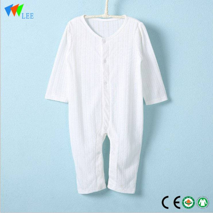 Hot sale low price high quality Bamboo Infant clothing baby romper