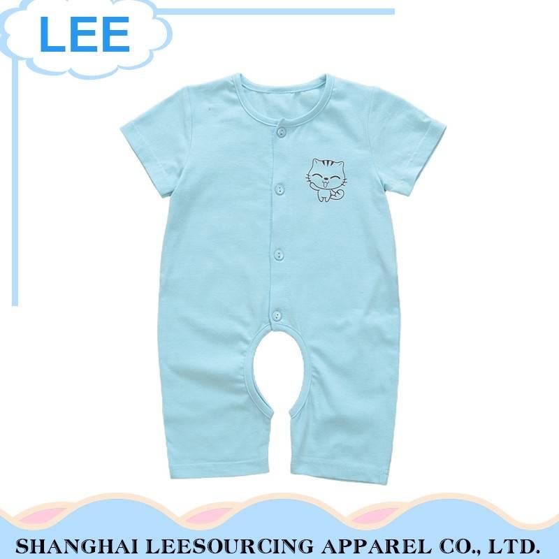 Plain Turquoise Baby Romper Rompersuit Babygrow Bodysuit 100/% Cotton