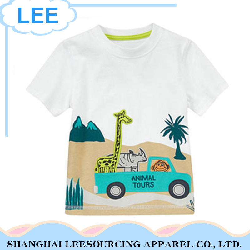 2017 New Baby Cotton Casual Shirts Summer T shirts Children Tops