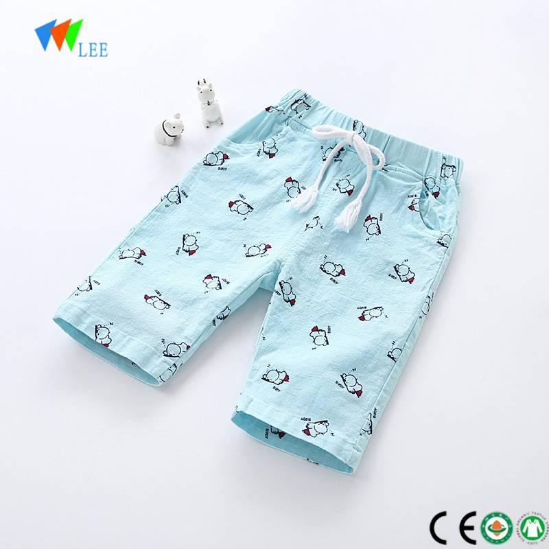 Best Quality Wholesale Ruffle Shorts China Manufacture Fashion Design Comfortable Summer Boys Shorts With Pattern Kids Shorts Wholesale Leesourcing Manufacturers And Suppliers China Leesourcing