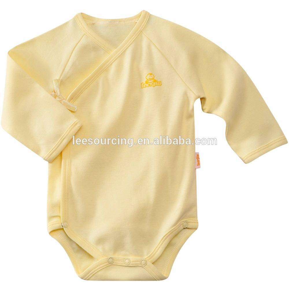 Hot sale cheap infant clothing bamboo baby boy romper suit
