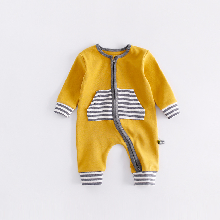 Popular High Quality Natural Fiber Kids Rompers