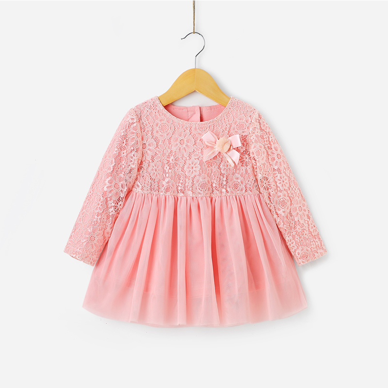 New Arrival Breathable Pink Children Baby Dress