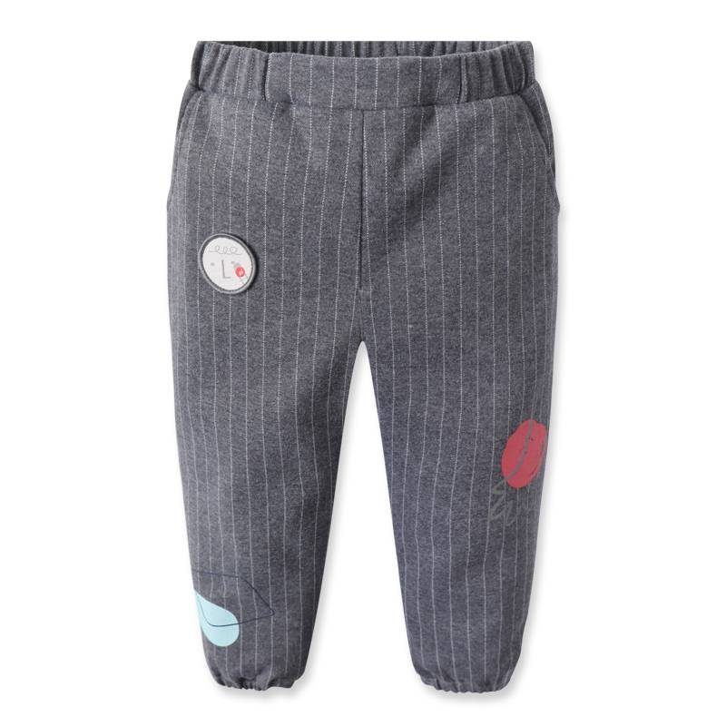 Wholesale Child Garment Organic Cotton Kids Casual Clothing Soft Baby Pants