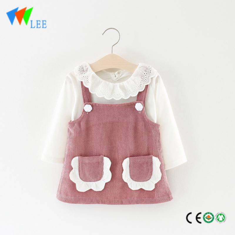 little queen flower girl dress baby modern cotton vest