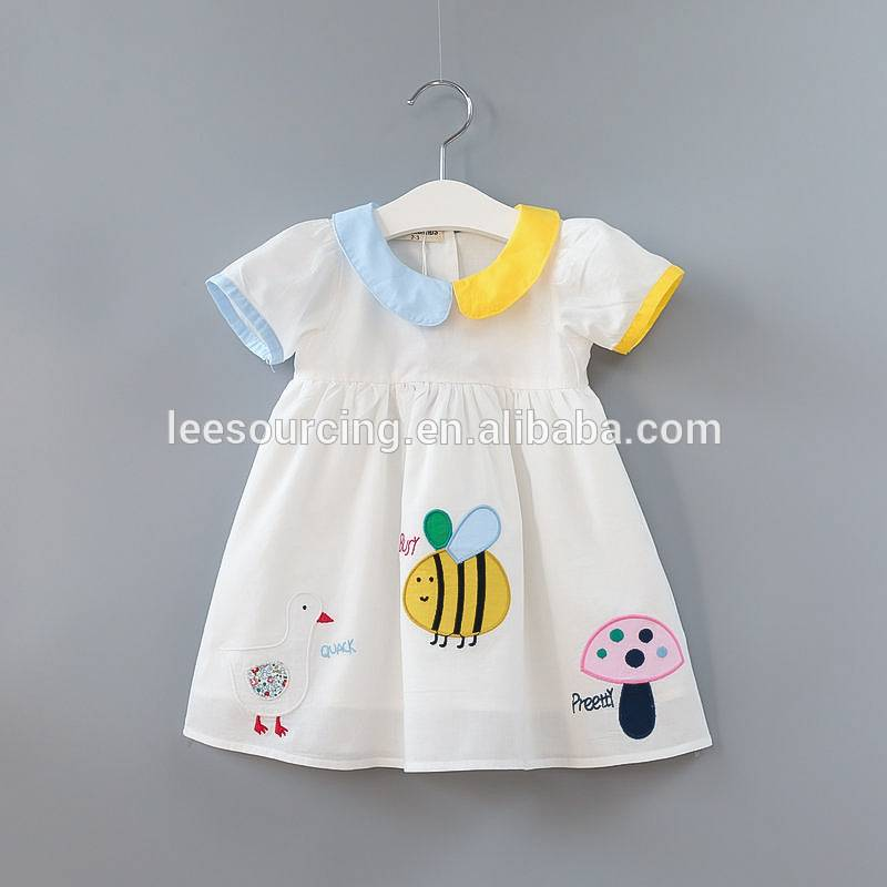 Leading Manufacturer for Baby Onesie Set - Sweet style short sleeve wholesale girls cute summer dresses – LeeSourcing