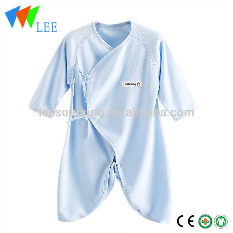 Wholesale summer long sleeve newborn romper kimono product for bamboo baby clothing Featured Image