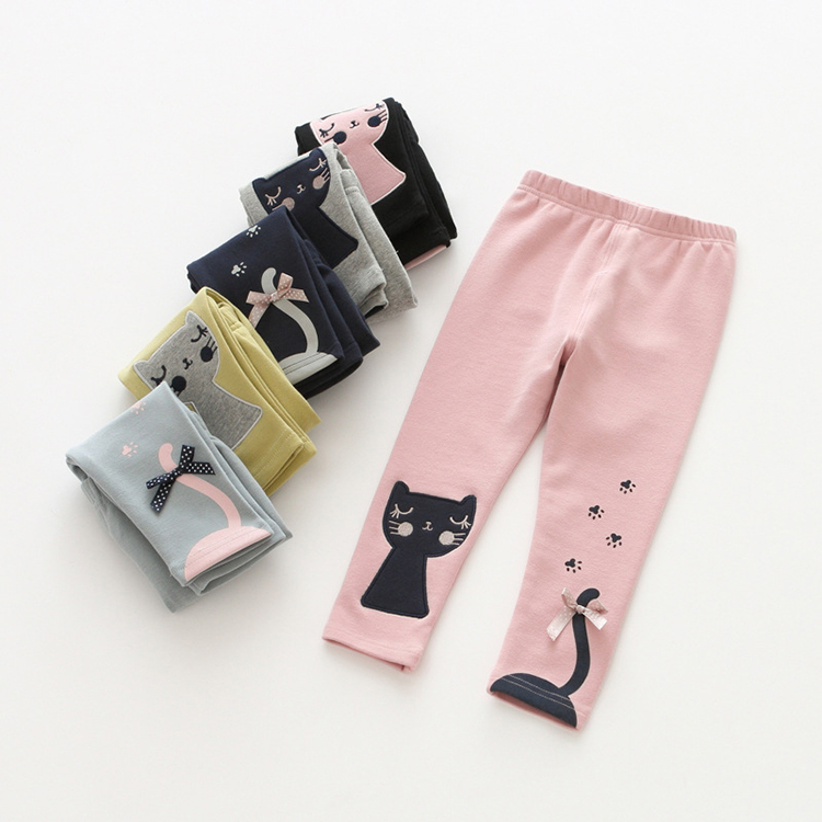 Latest Style 100% cotton Baby Pants Tights Leggings for 1-5 years old kids