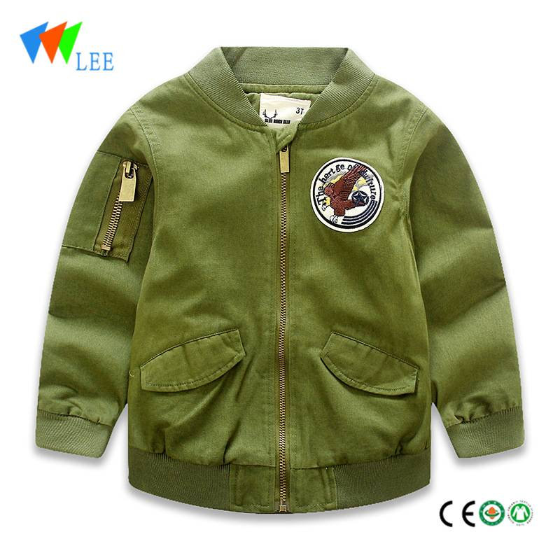 boys winter jacket without hood thicken coat