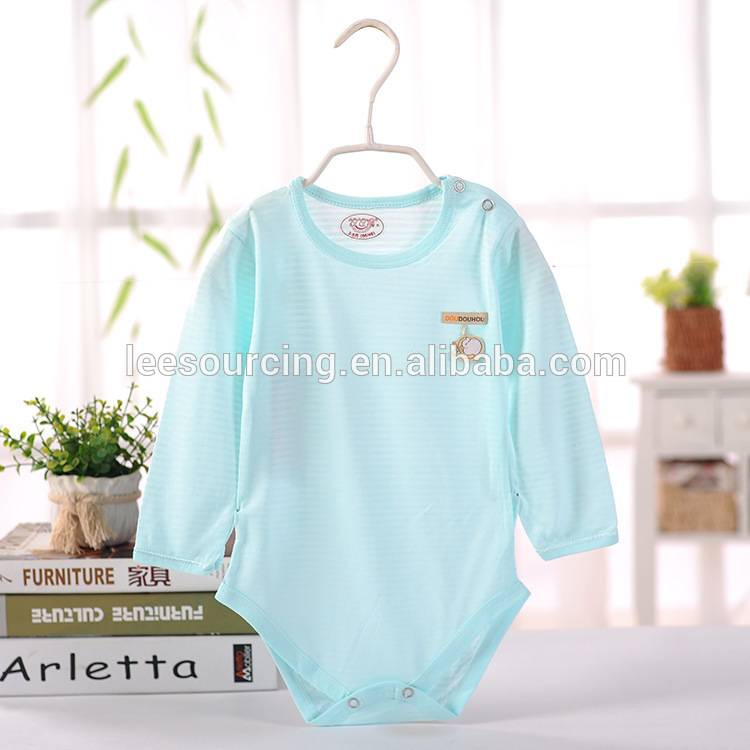 Hot selling baby infants one piece bodysuit bamboo baby onesie