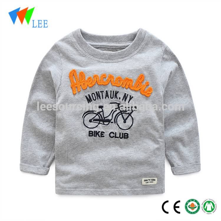 Factory direct selling baby clothing custom t shirt printing