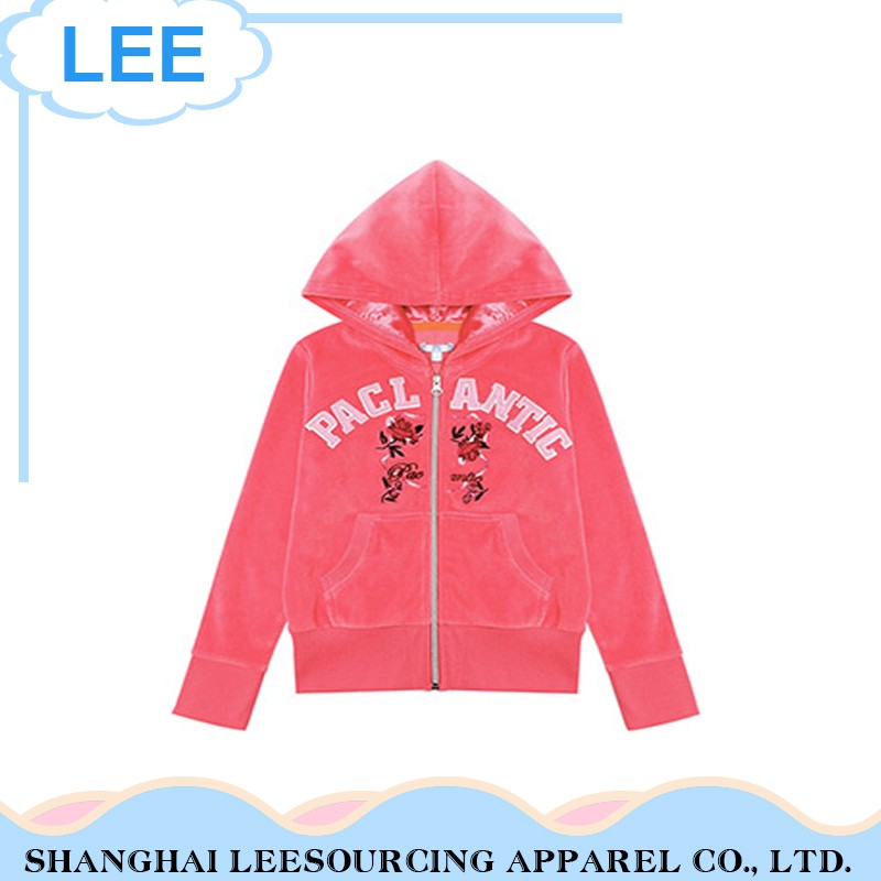 Wholesale Breathable Red Children Jacket For Girls
