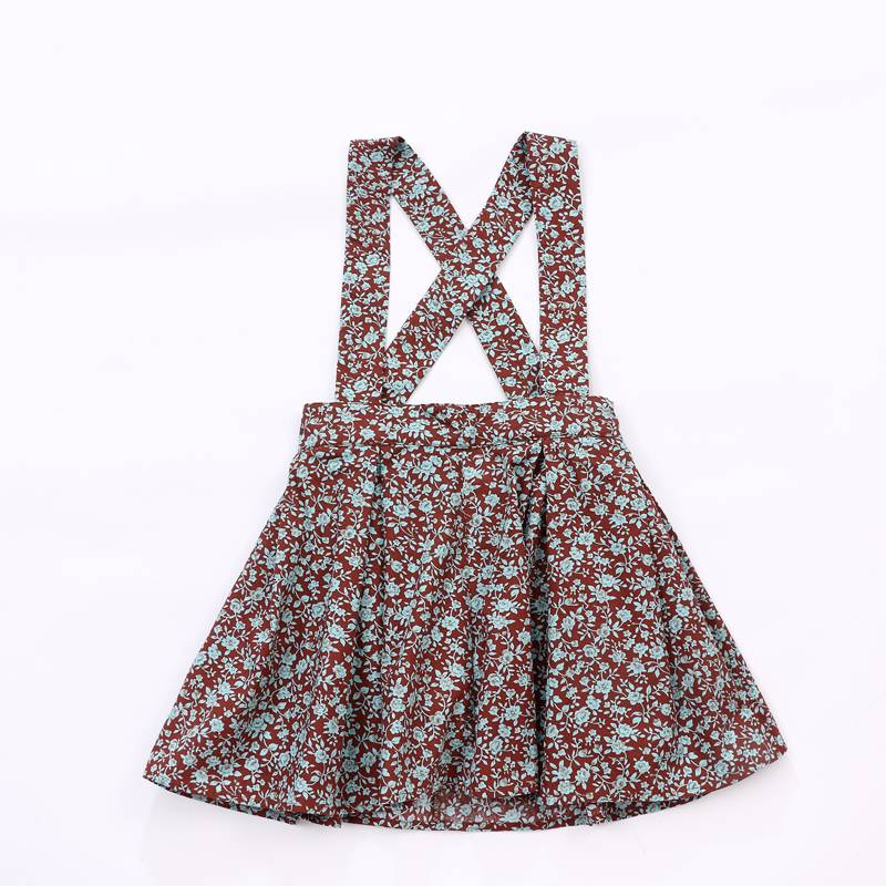 Wholesale girl floral dress manufacturer customized baby