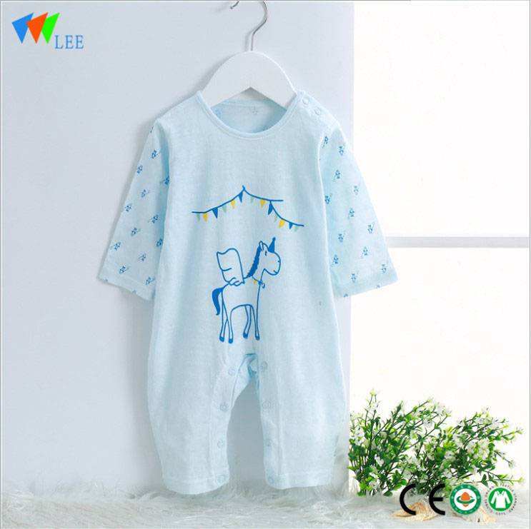 0-24Months new born Printed good price bamboo baby clothes romper