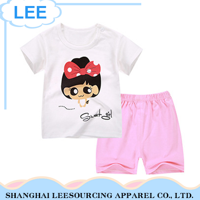 2017 High Quality For Children Clothes soft cheap children clothes sets