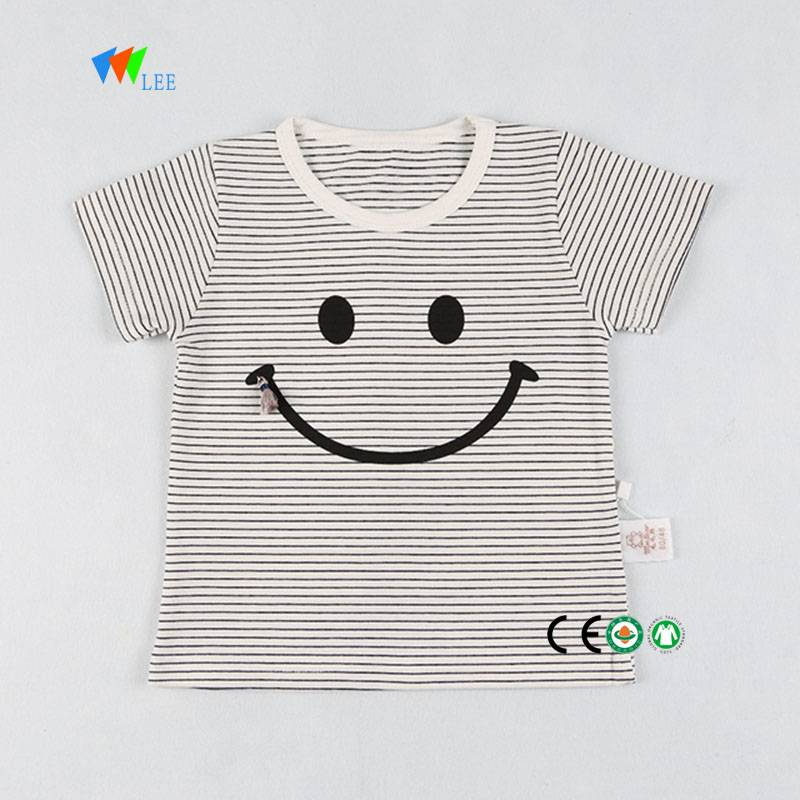 wholesale organic cotton t-shirt for girls kids