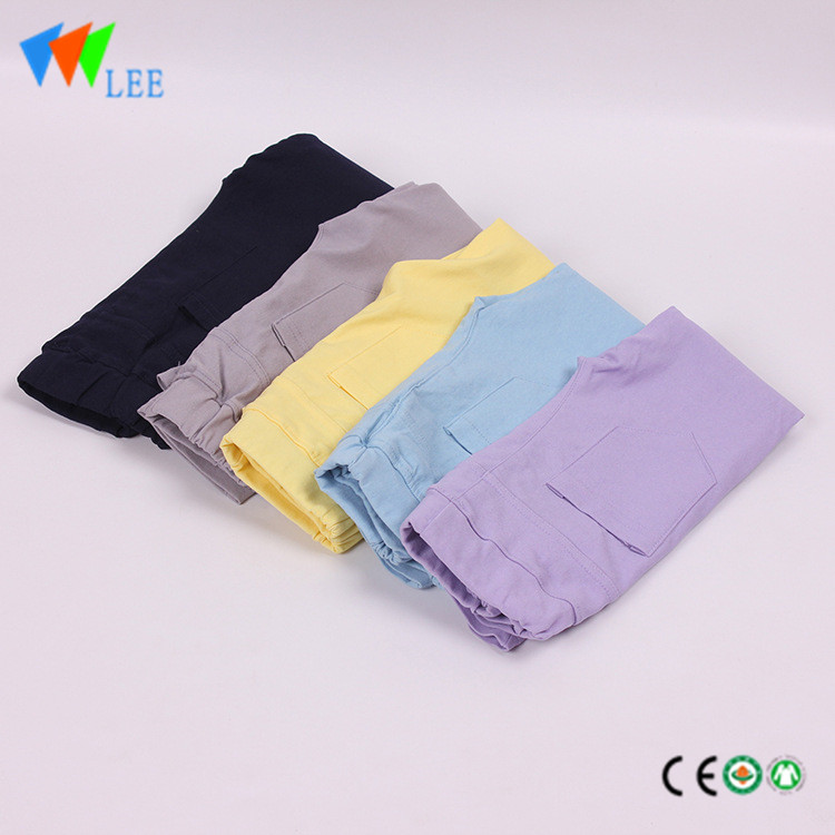 child cotton pure color leggings kids children pant design